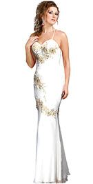 Classic Chiffon Evening Gown