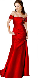 Fabulous Off-Shoulder Floor Length Dress