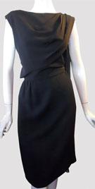Elegant Vintage Dress With Sash