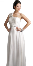 One Shoulder Style Winter Gown | Winter Collection 2010