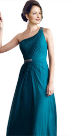 Sophisticated One Shoulder Winter Dress | Winter Collection 2010
