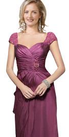 Phenomenal Queen Anne Neckline Dress   Winter Dresses