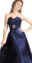 Sumptuous Strapless Floor Length Gown | Winter Collection 2010