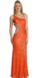 Sexy Sequined Winter Dress